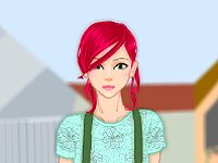 Fashion Addict Dress up game