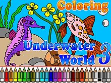 Coloring Underwater World 3