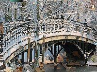 Snowy Bridge Hidden Objects