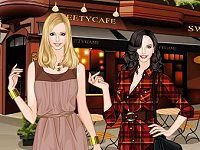 2 Broke Girls TV Fashion Dress Up