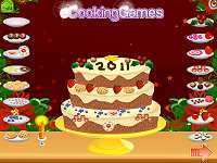 New Year 2011 Cake Decoration