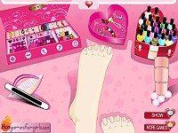 Bling Bling Toe Nails