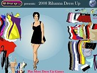 2008 Rihanna Dress up