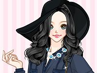 Blouse Beauty Anime