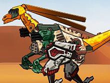 Repair Dino Robot: Gallimimus