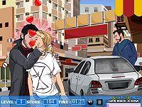 Christina Aguilera Kissing