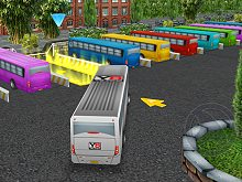 Bus Parking 3D World
