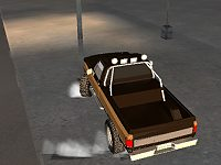 Pickup Truck City Driving Sim