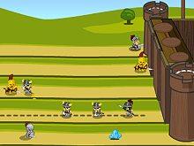 Knight Attack Castle Defense