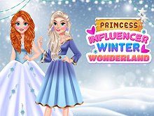 Princess Influencer Winter Wonderland