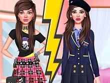 School Girl Classic vs Rebel