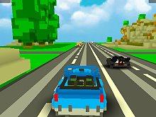 Blocky Traffic Racing