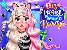 Eliza E Girl Trendy Hairstyles