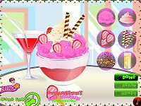 Strawberry Ice Cream Decoration