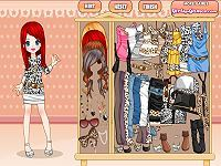 Leopard Fashion Dress Up