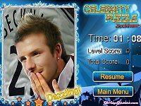 Beckham Celebrity Puzzle