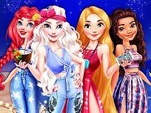 Princesses Starry Night