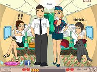 Kiss in the Airplane