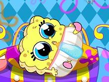 Spogebob Baby Caring