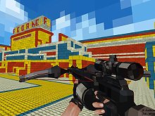 Paintball Pixel FPS