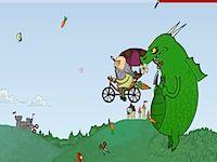 Da Vincis Skycycle Chase