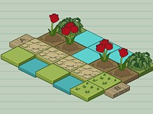 Mr Tulip Head's Puzzle Garden