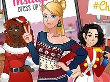 Instagirls Christmas Dress Up