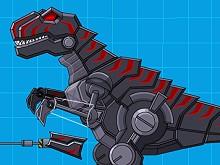 Robot Dinosaur Black T-Rex