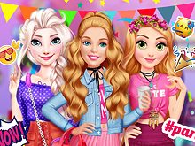 Princesses Dorm Party